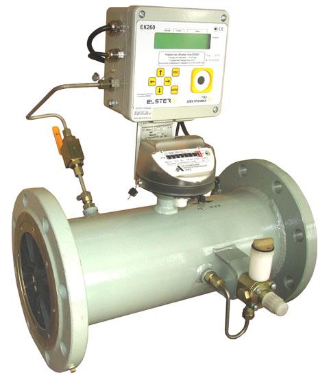 Измерительные комплексы газа СГ-ТК-Т-400 на базе турбинных счетчиков СГ-16МТ