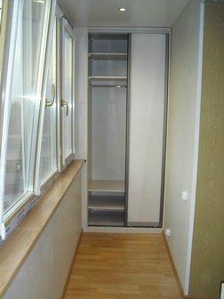Установка шкафов на балкон, лоджию в москве, цена, портфолио.