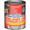 Цельсит-500 - термостойкая кремнийорганическая краска для чёрного металла. Тара 0,9кг