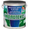Молотекс - декоративная эмаль по металлу с молотковым эффектом (кузнечная краска). Тара 2,5кг
