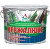 Нержалюкс - антикоррозионная эмаль для окраски поверхностей из цветных металлов. Тара 3кг