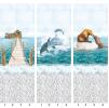 Панели пвх с 3d рисунком Panda Море