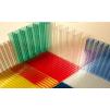 Поликарбонат сотовый 4-32мм прозрачный, цветной, резка, профили