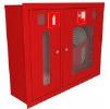 Шкаф для пожарного крана ШПК-315 встроенный с окном красный/белый (место для огнетушителя 6 кг) 840 х 650 230 мм