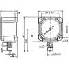 Манометр судовой МКУ100,160кгс/см2