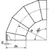 Отвод секторный сварной ОСТ 34-10752-97