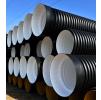 Труба гофрированная 400/343мм для наружной канализации SN8 с раструбом (6 метров)