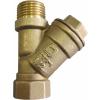 Фильтр воды сетчатый косой, Ду15, резьба ВН