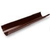 Желоб водосточный 3м, коричневый (RAL 8017) 125/90