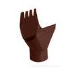 Воронка желоба, коричневая ( RAL 8017) 150/100