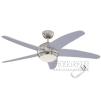 Люстра - вентилятор (потолочный вентилятор со светильником) Bendan Silver