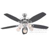 Люстра - вентилятор (потолочный вентилятор со светильником) Globo Denim 0335