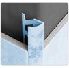 Раскладка под плитку наружная 11-12 мм(текстурированный)