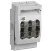 Выключатель-разъединитель-предохранитель (ПВР) 160А, 3 полюса | арт. SRP-10-3-160 | IEK