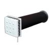 Приточный клапан ( клапан инфильтрации воздуха ) КИВ КВАДРО (KIV QUADRO) 400 мм
