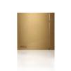 Вытяжной бытовой бесшумный вентилятор SILENT-100 CRZ GOLD DESIGN-4C