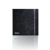 Вытяжной бытовой бесшумный вентилятор SILENT-100 CRZ MARBLE BLACK DESIGN-4C