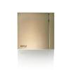 Вытяжной бытовой бесшумный вентилятор SILENT-100 CRZ CHAMPAGNE DESIGN-4C