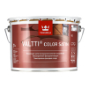 """TIKKURILA"" Valtti Color Satin (Валтти Колор Сатин Тиккурила, Финляндия) — колеруемый лессирующий антисептик для дерева на основе масел, для наружных работ, 9л"