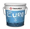 """""""TIKKURILA"""" Euro 3 (Тиккурила Евро 3, Санкт-Петербург) - глубоко матовая латексная водоэмульсионная краска для стен и потолков сухих помещений"""