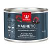 """""""TIKKURILA"""" Magnetic (Тиккурила Магнетик, Финляндия) — водоразбавляемая краска специального применения с содержанием частиц железа для придания поверхности свойства притягивать магнит, 0,5л"""