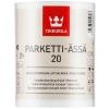 """""""TIKKURILA"""" Parketti-Assa 20 Lattialakka (Паркетти-Ясся Лак Паркетный Полуматовый, Тиккурила Финляндия) — водоразбавляемый полиуретаново-акрилатный покрывной лак для паркета, 10л"""