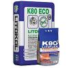 Беспылевая клеевая смесь LITOKOL LITOFLEX K80 eco (ЛИТОКОЛ) для укладки керамогранита, плитки из керамики 25кг