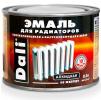 Эмаль Dali (Дали) — эмаль алкидная для радиаторов отопления, труб систем водяного отопления, белая, 0,5л
