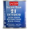 Лак для дерева PETRI DREAM (ПЕТРИ ДРИМ) - полиуретановый лак для дерева на водной основе, 3,8л (1 галлон) полуматовый