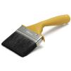 Кисть ANZA Basic (АНЗА) для наружних работ, изогнутая (100 мм) арт.313190 (смешанная щетина)
