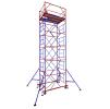 Вышка тур МЕГА-1 на высоту 4 метра может наращиваться до 20 метров