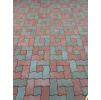Тротуарная плитка Волна * 230х110х60 (цвет серый).