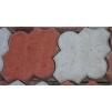 Тротуарная плитка Клевер гладкий * 260х220х60 (цвет серый).