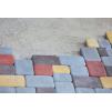 Тротуарная плитка Брук одинарный * 180х120х60 (цвет серый).