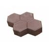 Тротуарная плитка Соты * 250х180х60 (цвет серый).