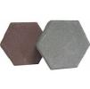 Тротуарная плитка Шестигранник * 240х210х60 (цвет серый).