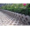 Газонная бетонная решетка 330х500х75