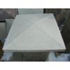Козырек на столб 490х490 бетонная плитка для заборов вибролитье