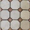 Premium Marble Zaijian мозаика мраморная BW04 BOTTIC. (48) + R. VERONA (15) tumbled Premium Marble (Китай)