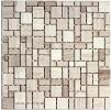 Мозаика из натурального камня Bonaparte Dunes