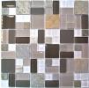 Мозаика стеклянная с камнем Bonaparte Style time-48