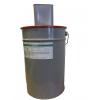 Силокор Гард эмаль (зеленая). Комплект 30 кг. (основа 25 кг + отвердитель 5 кг)