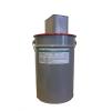 Антикоррозионная эмаль высокой химической стойкости Полак ЭП21 №5 стойкий, черный. Комплект 25,5 кг (основа 25 кг + отвердитель 0,5 кг)