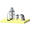 Сепаратор абразива с бункером накопителем 500 литров
