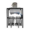 Сепаратор абразива с бункером накопителем 1000 литров