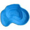 Декоративный цветной пластиковый садовый пруд 440л. Цвет: Cиний