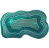 Декоративный цветной садовый пластиковый пруд 750л. Цвет: Зеленый