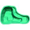 Декоративный цветной пластиковый садовый пруд 150л. Цвет: Зеленый