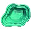 Декоративный цветной пластиковый садовый пруд 190л. Цвет: Зеленый