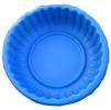 Ваза садовая пластиковая большая круглая. Объем: 210л. Цвет: Синий